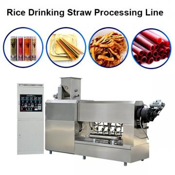 High Quality Degradable Pasta Straw Machine Production Line