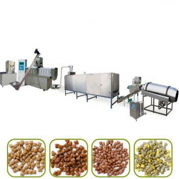Puffed Animal Feed Extruder Production Plant Dog Pet Food Making Machine