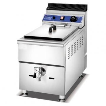 Freestanding Gas Fryer with Cabinet Stainless Steel Chip Deep Fat Fryer