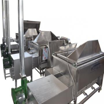 Full-Auto Gas Heated Continous Frying Machine and Commercial Deep Fryer