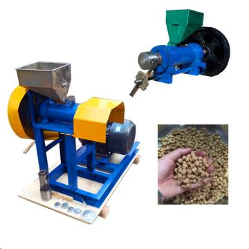 Ce Floating Pellet Fish Feed Extruder with 1000kg-2000kg Capacity