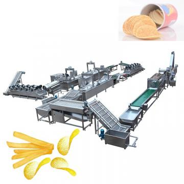 Fully Automatic Crisp Potato Wave Chips Making Machine Production Line