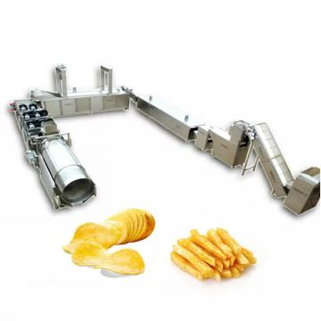 Automatic Algeria Gas Heating Potato Chip Production Line Making Machine Price