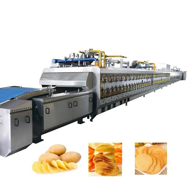 French Fries Making Machine Fully Automatic/Stainless Steel French Fries Cutters 100kg H Potato Chips Strip Cutting Machine for Frozen Maker in India #3 image