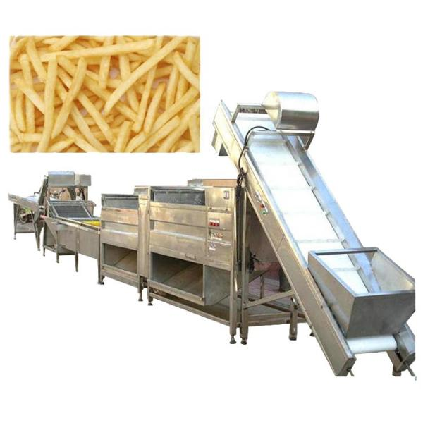 French Fries Making Machine Fully Automatic/Stainless Steel French Fries Cutters 100kg H Potato Chips Strip Cutting Machine for Frozen Maker in India #2 image